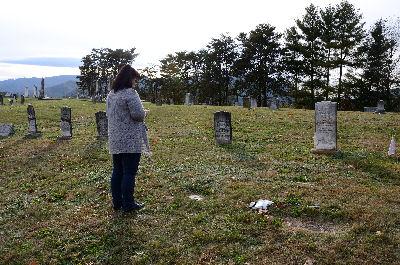 John & Pink's Grave